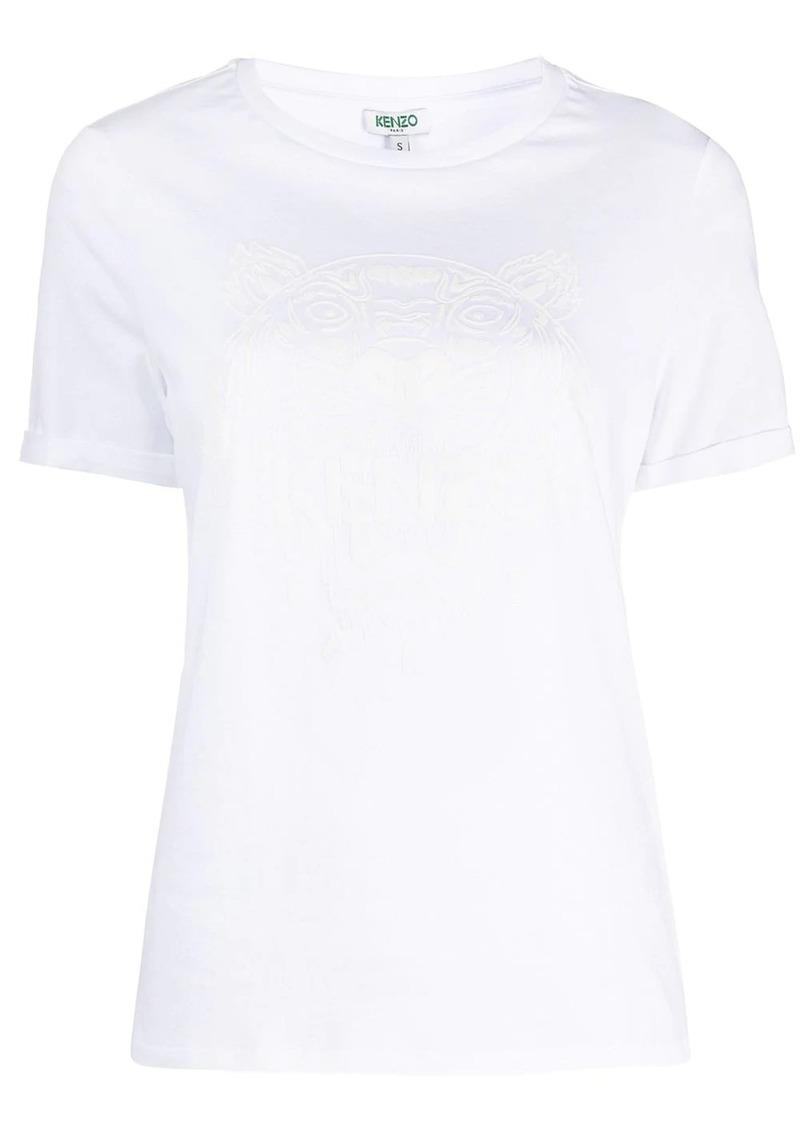 Kenzo Iridescent Tiger-print cotton T-shirt