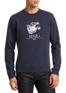 Kenzo Jumping Tiger Crewneck Sweatshirt