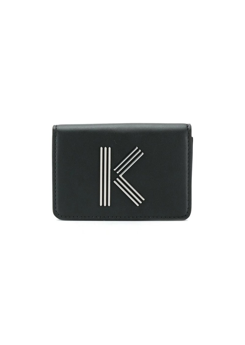 Kenzo K-Bag leather coin purse