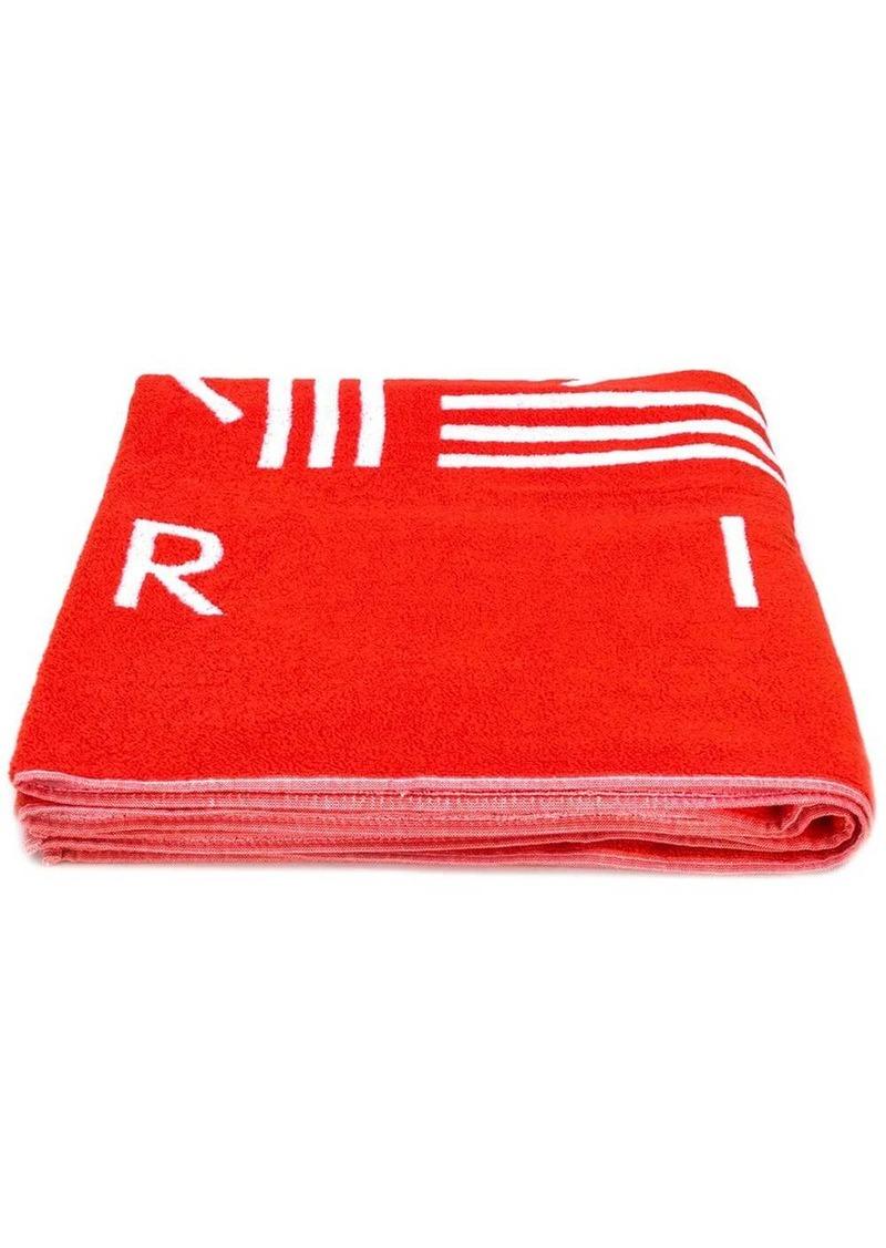 Kenzo K Sport logo beach towel