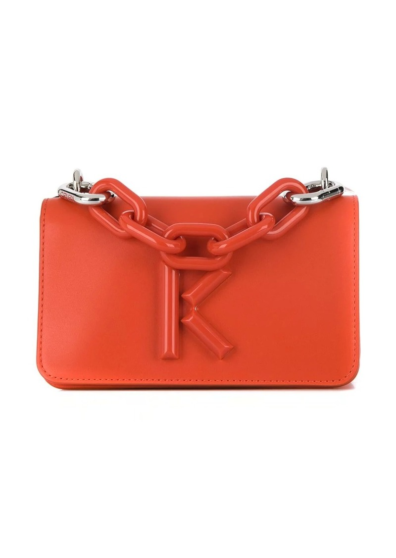 Kenzo Kandy logo plaque crossbody bag