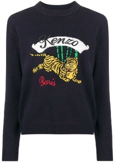 Kenzo Bamboo Tiger knitted sweater