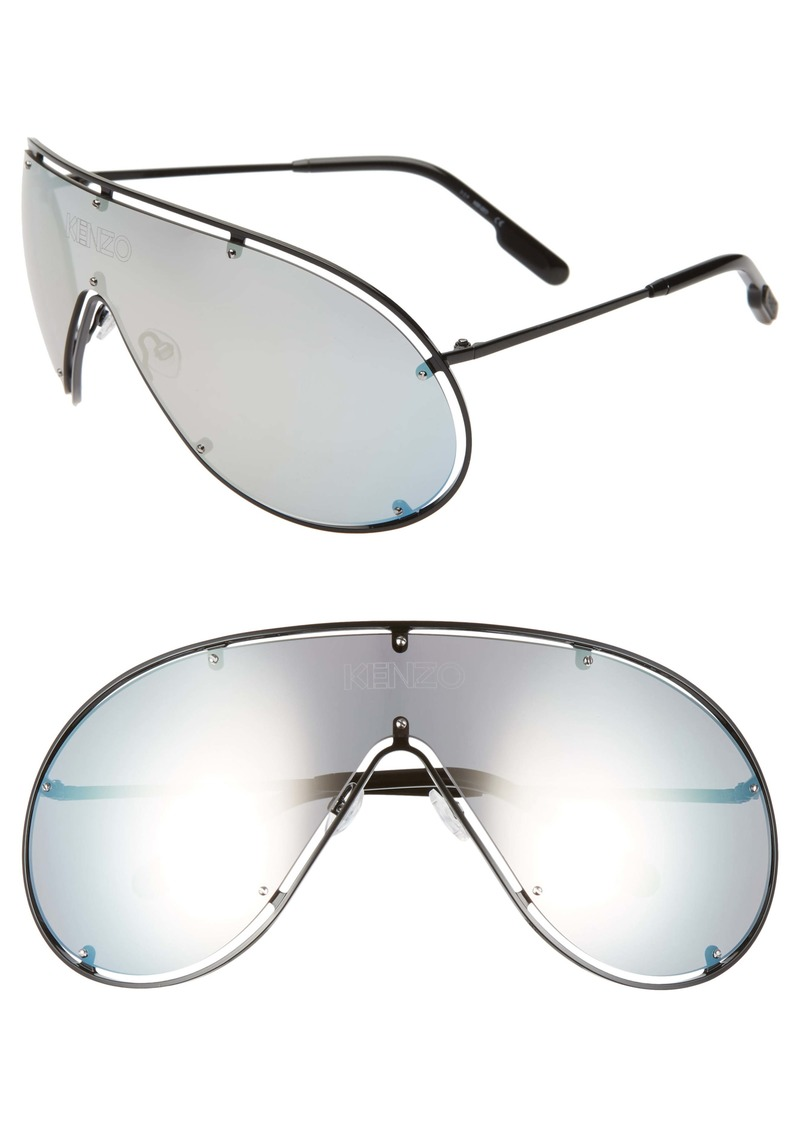 KENZO 141mm Shield Sunglasses