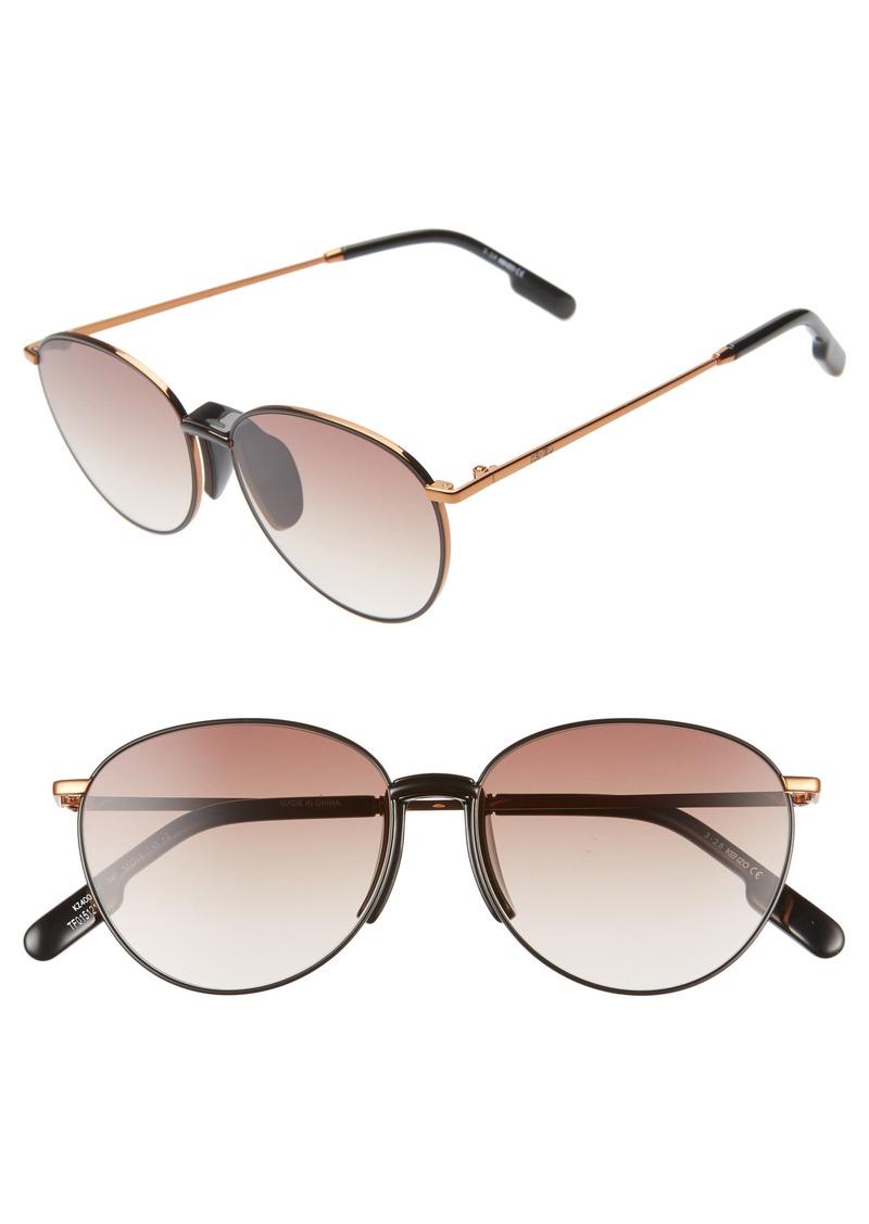 KENZO 55mm Round Sunglasses