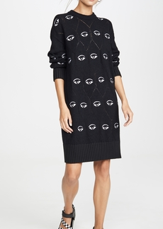 KENZO All Over Eye Sweater Dress