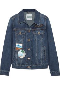 KENZO Appliquéd denim jacket