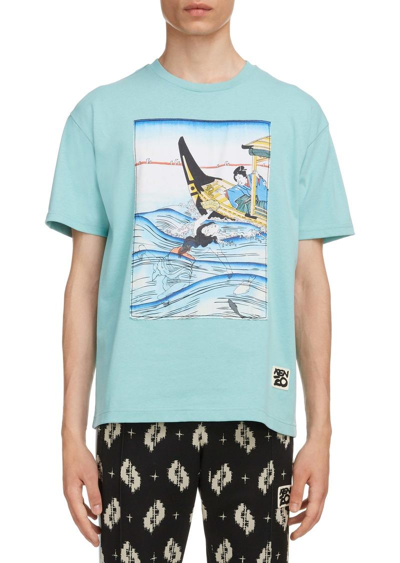 KENZO Art Appliqué T-Shirt
