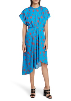 KENZO Asymmetrical Midi Dress