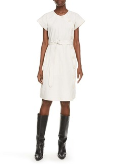 KENZO Belted Cotton Dress