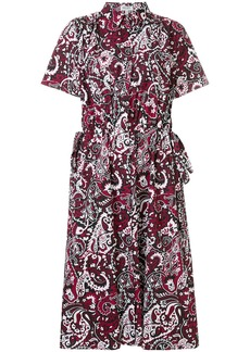 Kenzo belted shortsleeved shirt dress
