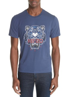 KENZO Bleached Embroidered Tiger T-Shirt