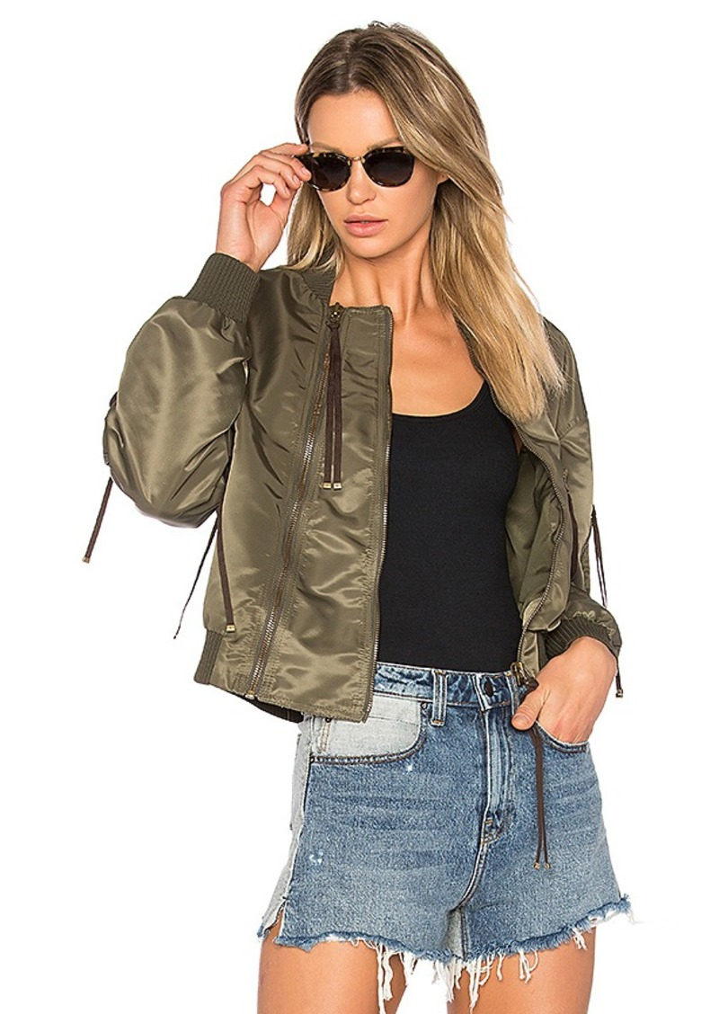 Kenzo Bomber in Army. - size L (also in XS,S)