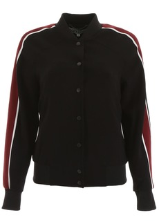 Kenzo Bomber Jacket With Tiger Embroidery