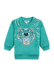 Kenzo Botanical Tiger Embroidered Sweatshirt  Size 12-18 Months