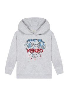 Kenzo Boy's Elephant Icon Hooded Sweatshirt  Size 2-6