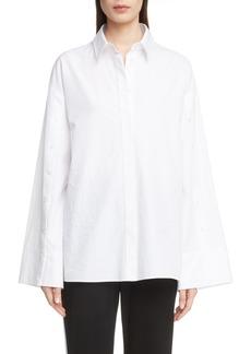 KENZO Button Sleeve Top