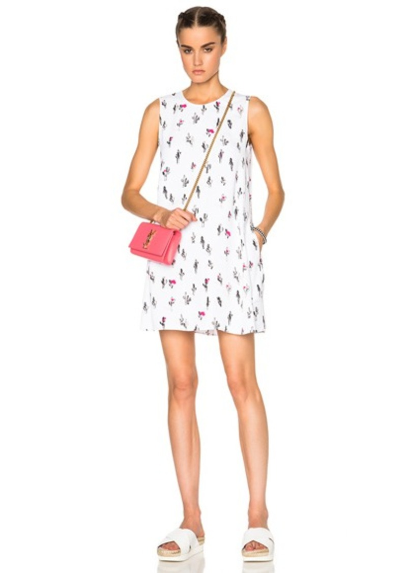 Kenzo Cartoon Cactus Poly Dress