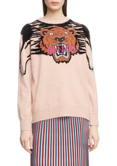 KENZO Claw Tiger Crewneck Sweater