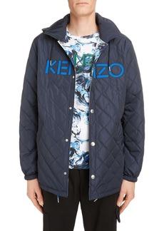 KENZO Coach Reversible Hooded Jacket