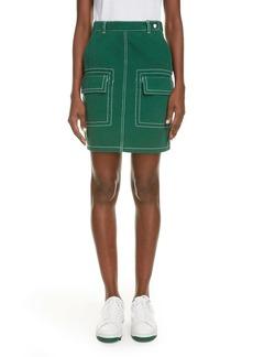 KENZO Contrast Stitch Skirt