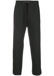 Kenzo cropped drawstring trousers - Grey