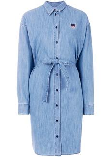 Kenzo denim shirt dress - Blue