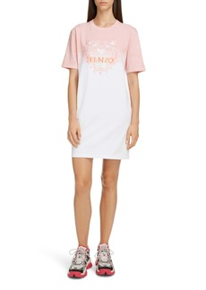 KENZO Dip Dye Comfort T-Shirt Dress