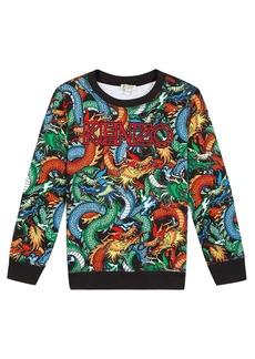 Kenzo Dragon Print Sweatshirt  Size 2-6