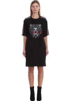 Kenzo Dress In Black Tech/synthetic