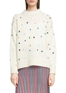 KENZO Embellished Comfort Sweater