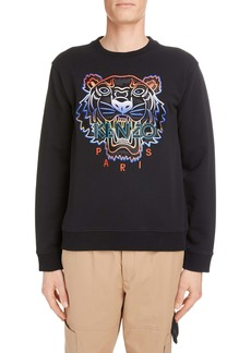 KENZO Embroidered Gradient Tiger Sweatshirt