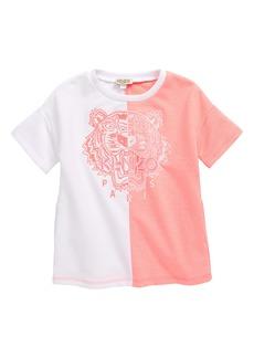 KENZO Embroidered Tiger Logo Dress (Toddler, Little Girl & Big Girl)