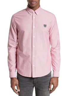 KENZO Extra Trim Fit Tiger Crest Sport Shirt