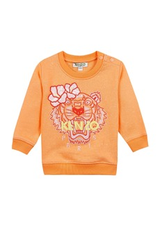 Kenzo Floral Tiger Embroidered Sweatshirt  Size 12-18 Months