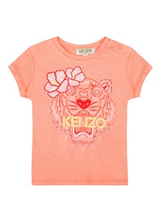 Kenzo Floral Tiger Graphic T-Shirt  Size 5-6