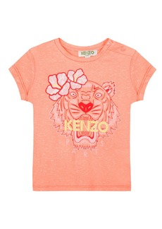 Kenzo Floral Tiger Graphic T-Shirt  Size 8-12
