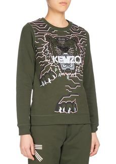 Kenzo Geo Tiger Relaxed Sweatshirt