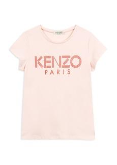 Kenzo Girls' Logo Tee - Little Kid