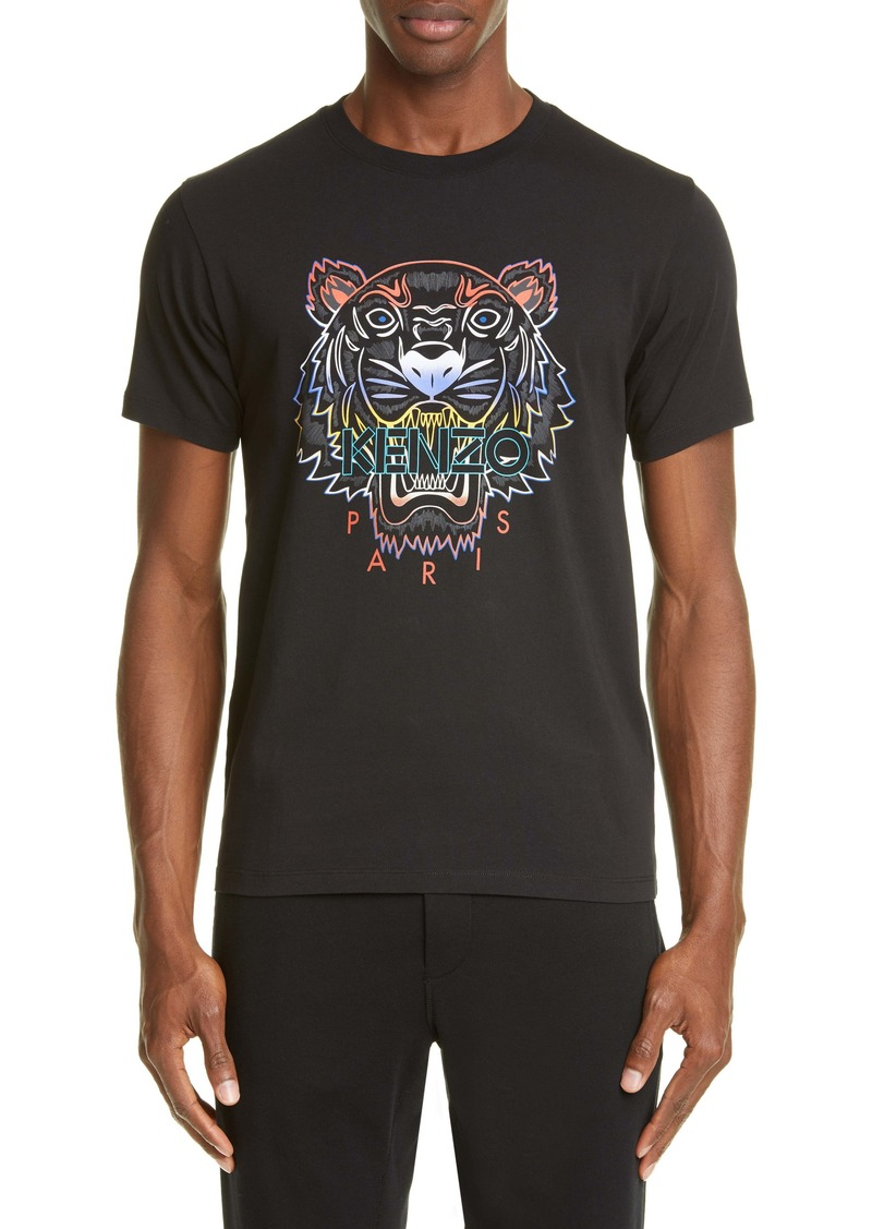 KENZO Gradient Tiger Graphic T-Shirt