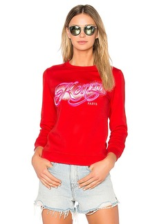 Kenzo Graphic Sweatshirt in Red. - size M (also in XS,S)