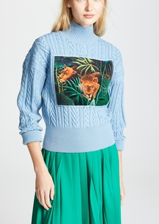 KENZO High Collar Long Sleeve Sweater