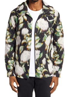 KENZO Hooded Button-Up Shirt