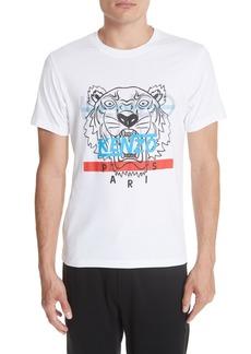 KENZO Hyper Tiger Graphic T-Shirt