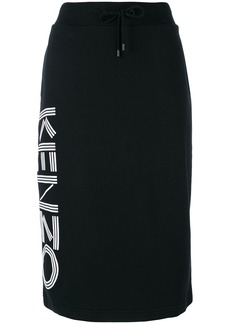 Kenzo jersey skirt