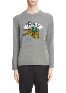 KENZO Jumping Tiger Wool Sweater
