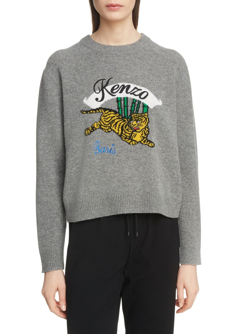 71f9f3467 Kenzo KENZO Jumping Tiger Wool Sweater Now $158.00