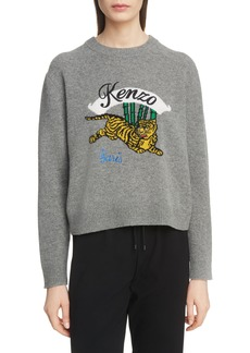KENZO Jumping Tiger Wool Sweater