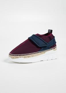 KENZO K Lastic Espadrille Sneakers