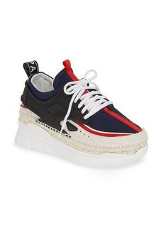 KENZO K-Lastic Midnight Espadrille Sneaker (Women)