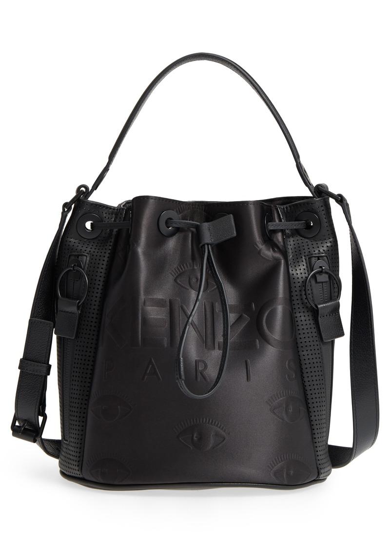 aed778c06b Kenzo KENZO Kanvas Embroidered Eye Faux Leather Bucket Bag | Handbags